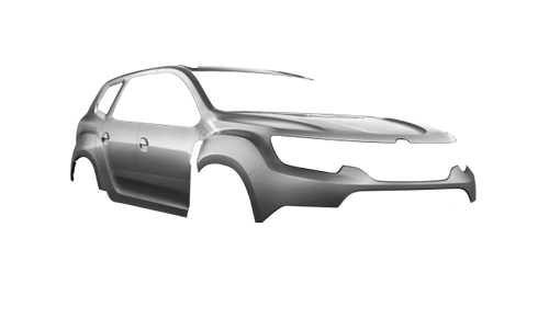 Цвета кузова Duster